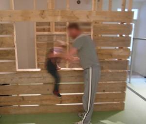 Vader en Zoon van 4,5 jaar oud bij Sta Vast Training in Bussum